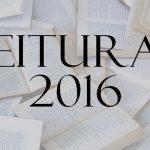 Leituras 2016
